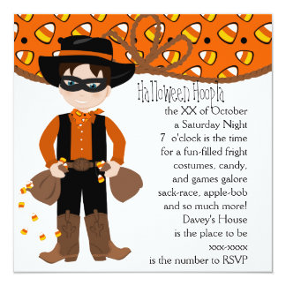 The Candy COrn Bandit Card