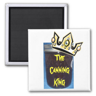 The Canning King Square Magnet