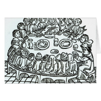 The Canterbury Pilgrims Card