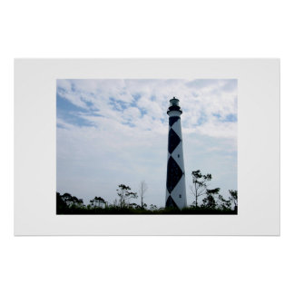 The Cape Lookout Lighthouse Poster