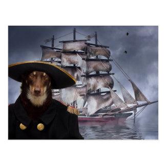The Captain Postcard