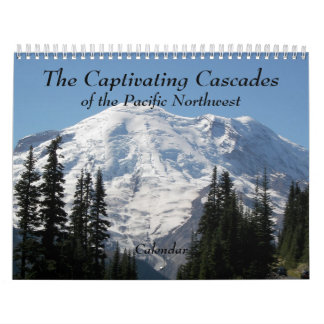 The Captivating Cascades Photo Calendar