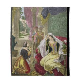 The Captive Hebrew Maid that Waited on Naaman's Wi iPad Folio Case
