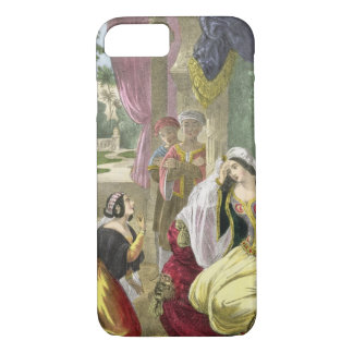 The Captive Hebrew Maid that Waited on Naaman's Wi iPhone 7 Case