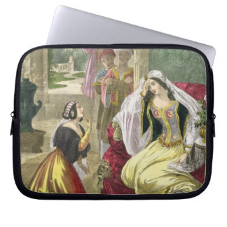 The Captive Hebrew Maid that Waited on Naaman's Wi Laptop Computer Sleeve