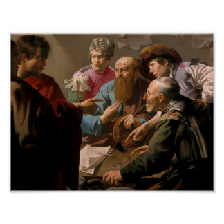 The Capture of Christ, Heinrich Hofman Poster