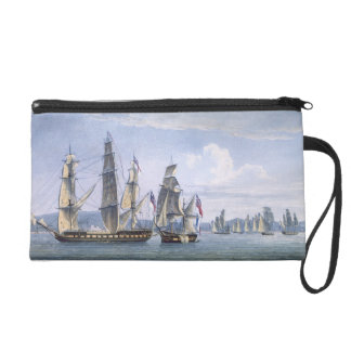 The Capture of Le Sparviere on 3rd May, 1810, engr Wristlet Purse