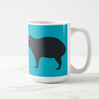 The Capybara is Watching Mug
