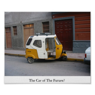 The Car of The Future? Print