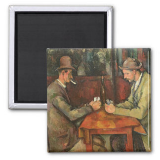 The Card Players, 1893-96 Magnet