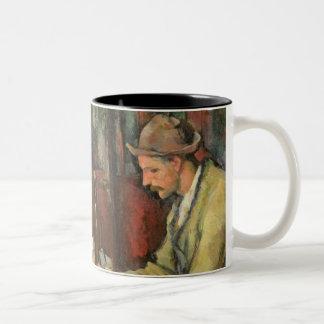 The Card Players, 1893-96 Two-Tone Coffee Mug