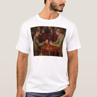 The Card Players, Claude Cezanne T-Shirt