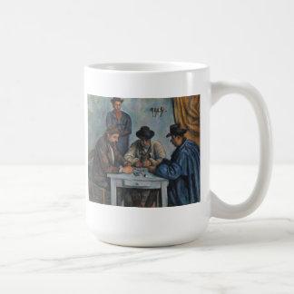 The Card Players Coffee Mug