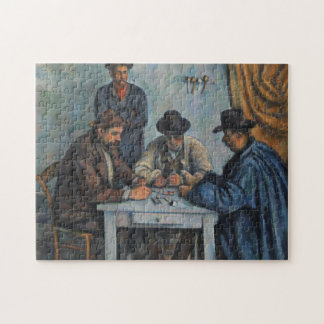 The Card Players Jigsaw Puzzle