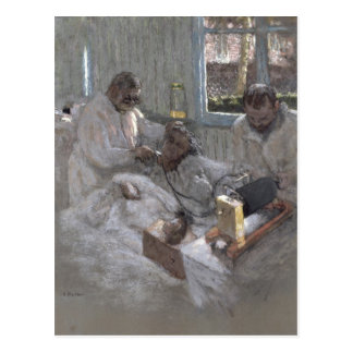 The Cardiologist Henri Vaquez  and his Postcard