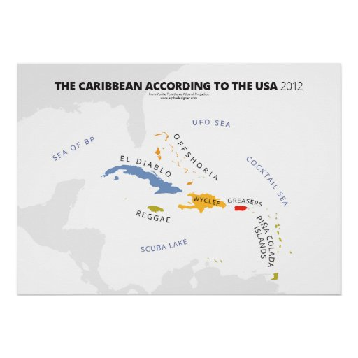 The Caribbean According to the USA Print
