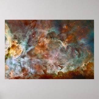 The Carina Nebula Print