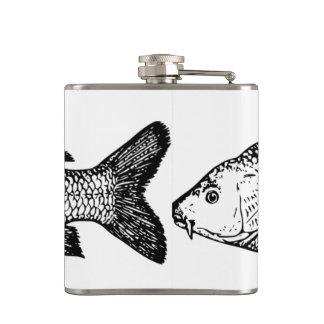 The carp hip flask! hip flask