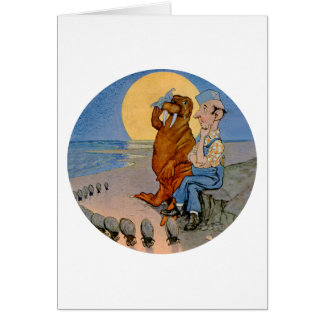 The Carpenter and the Walrus and the Oysters Card