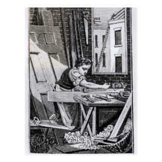 The Carpenter Postcard