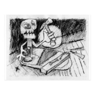 the carpenter's lament post card