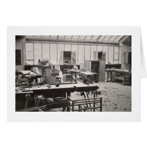 The Carpenter's Workshop, from the Workshops of th Greeting Card