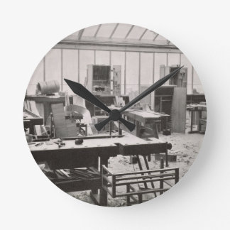 The Carpenter's Workshop, from the Workshops of th Round Clock