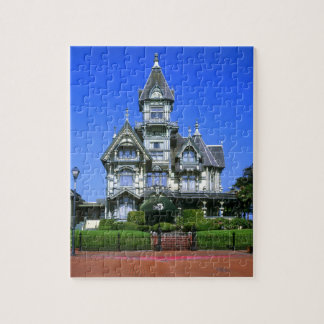 The Carson Mansion in Eureka, California Jigsaw Puzzle