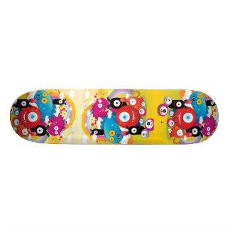 The Cartoon Monsters Skate Board Deck