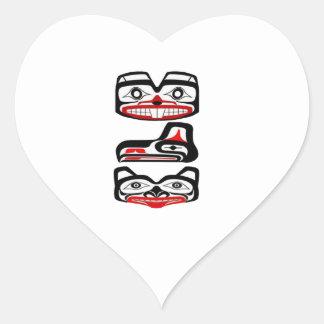 THE CASCADES BEYOND HEART STICKER
