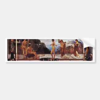 The Case Of Paris,  By Klinger, Max (Best Quality) Bumper Sticker