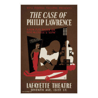 The Case of Philip Lawrence Poster