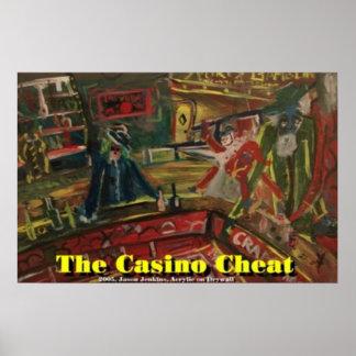The Casino Cheat Print