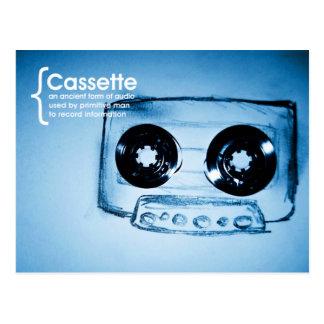 The Cassette Tape Postcard