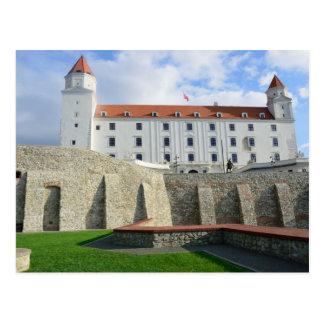 The Castle Bratislva Postcard