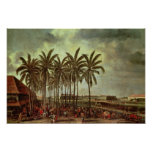 The Castle of Batavia,Seen from Kali Besar Poster