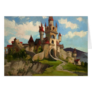 The Castle on the Hill Card