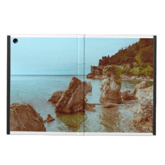 The castle on the sea and the rocks cover for iPad air