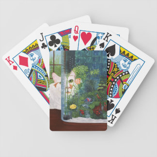 The Cat Aquatic Bicycle Playing Cards
