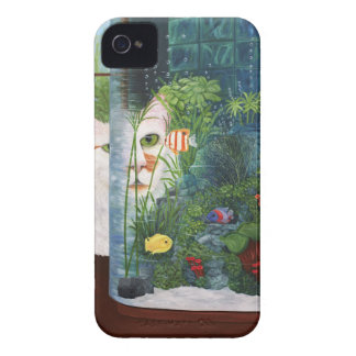 The Cat Aquatic Case-Mate iPhone 4 Case