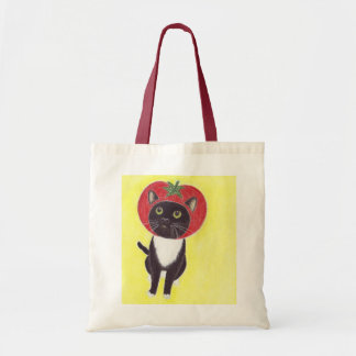 The cat called Tomato Tote Bag