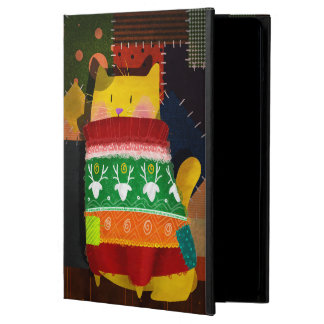 The Cat in the Ugly Sweater iPad Air Cover