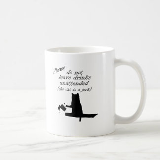 The Cat is a Jerk Coffee Mug
