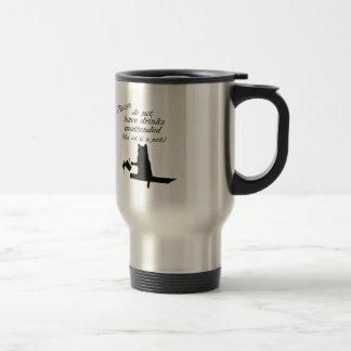 The Cat is a Jerk Travel Mug