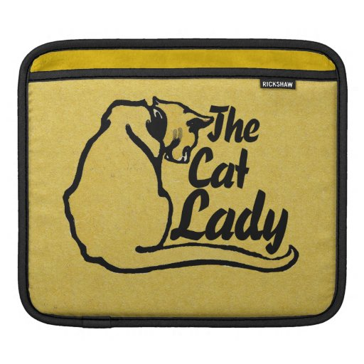 The Cat Lady iPad Sleeve