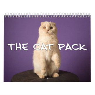 The Cat Pack Wall Calendars