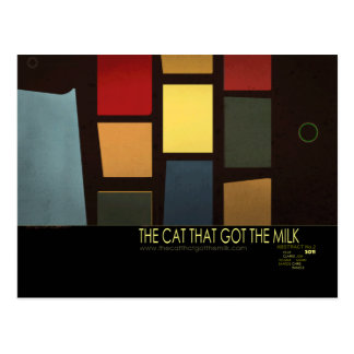 The Cat that Got the Milk - Variant 2 Postcard