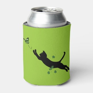 The Cat & The Butterfly Version 2 Can Cooler