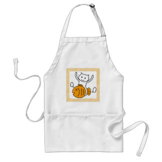 The cat which wants standard apron