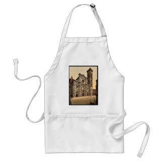 The Cathedral and campanile, Florence, Italy vinta Apron